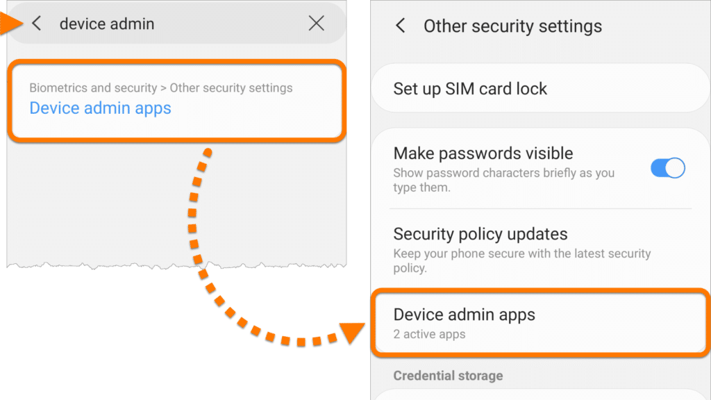 device admin apps