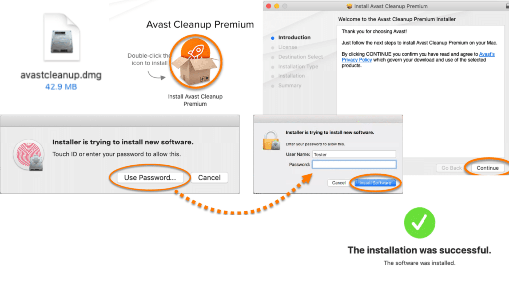 avast cleanup mac