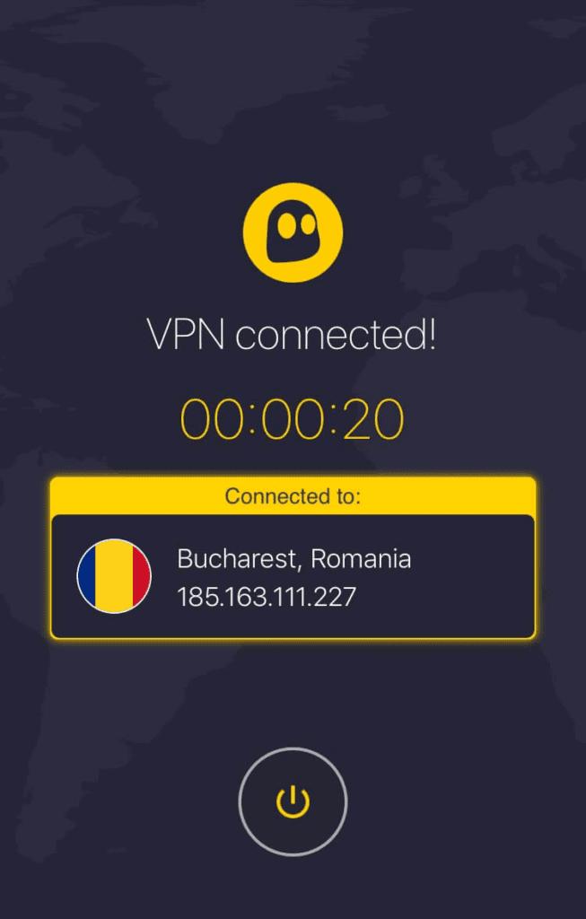 CyberGhost iOS App