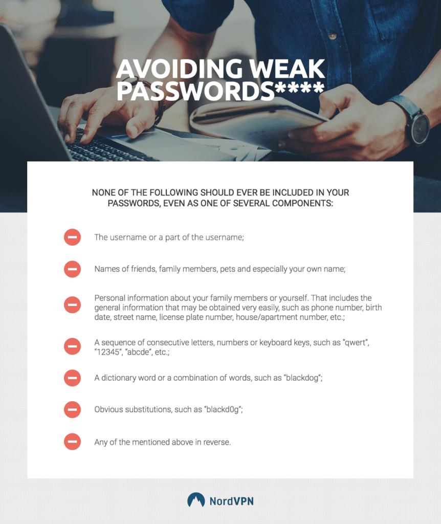 Tips To Avoid Weak Passwords
