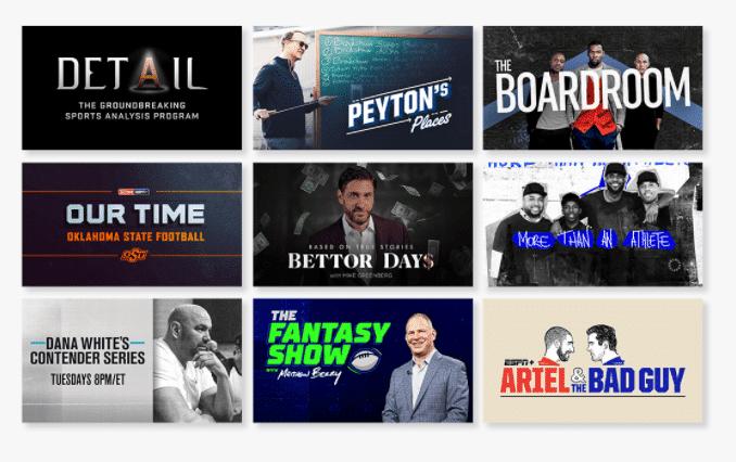 ESPN+ Originals