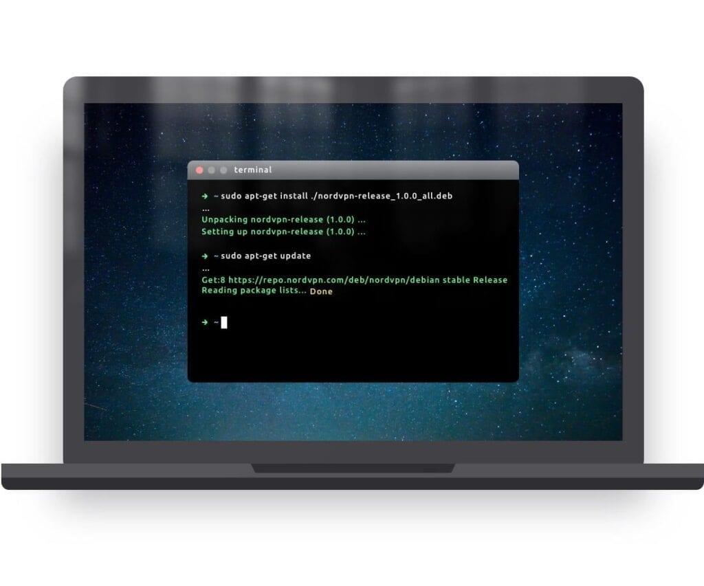 NordVPN Linux App