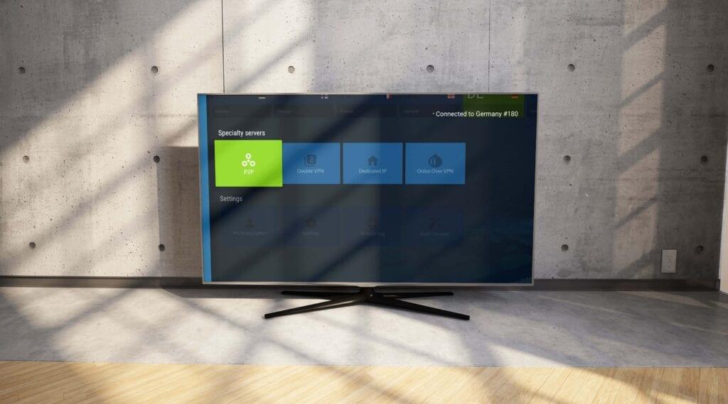 NordVPN Android TV App