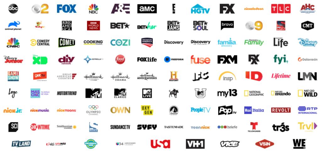 Fubo TV Entertainment Channels