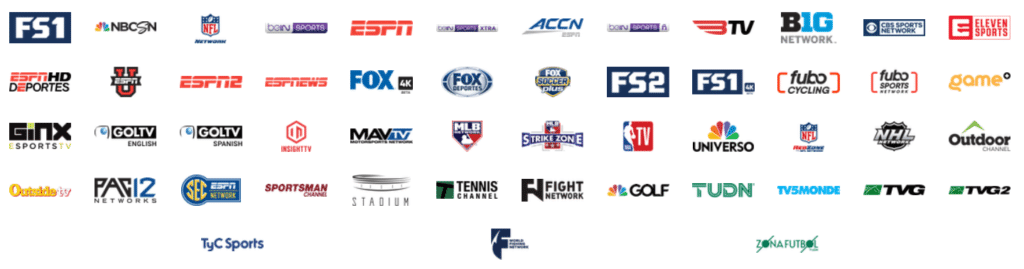 Fubo TV Sports Channels