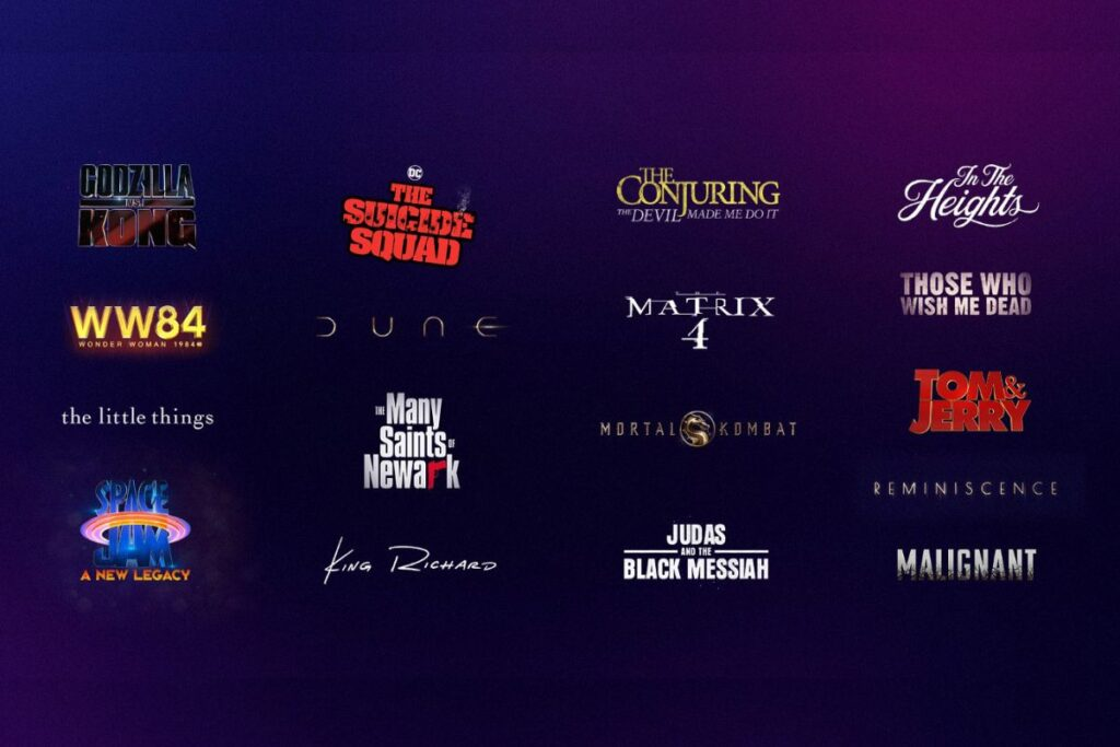 Major 2021 releases