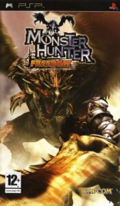 Monster Hunter Freedom cover for the PSP