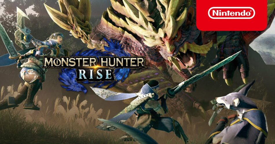 Monster Hunter Rise on the Nintendo Switch
