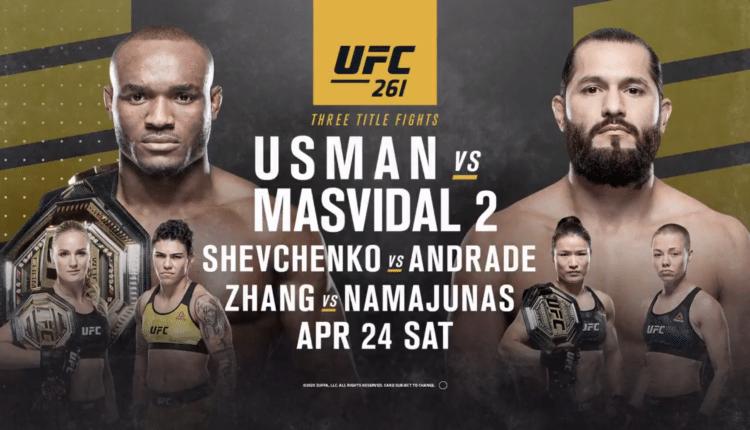 UFC 261 Live Online