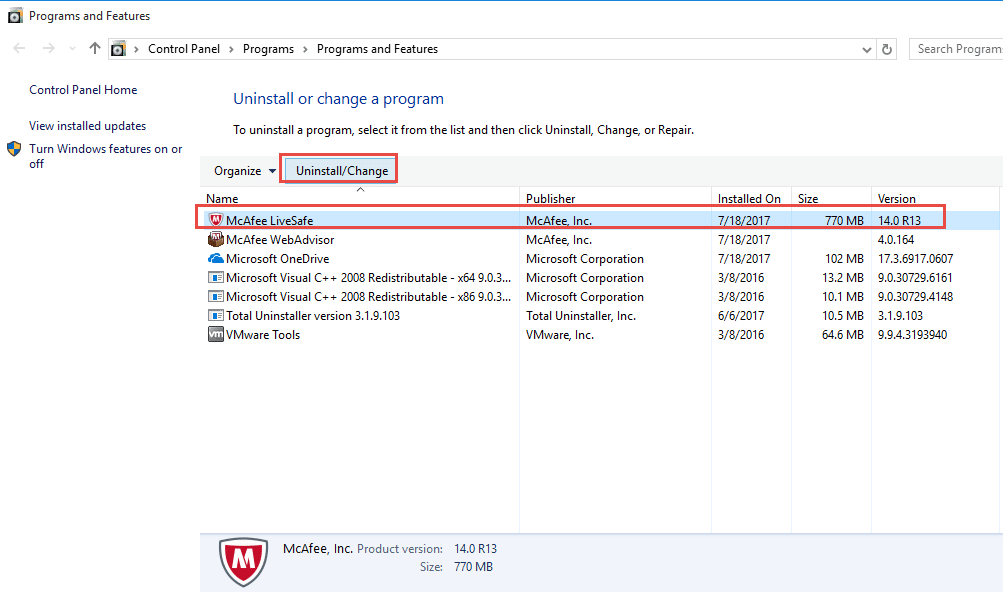 Fix The McAfee Installation Error Code 0